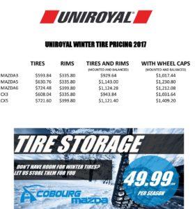 Winter Tire Specials