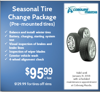 Seasonal Tire Change Package