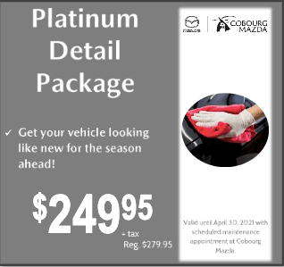 Platinum Detail Package $249.95