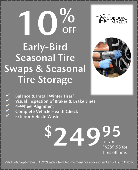 Seasonal Tire Swap Special $249.95